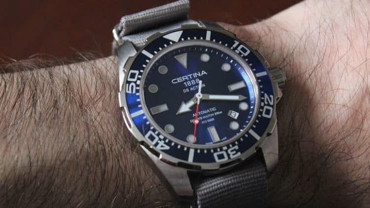 Certina DS Action Automatic Diver Watch