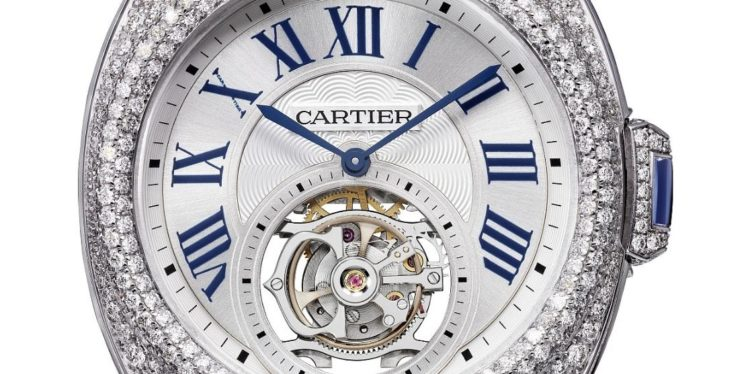 Reloj Clé de Cartier Flying Tourbillon - REF HPI00933
