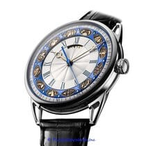 De Bethune DB25TWS3V3 DB 25T Zodiac in White Gold With Hand Engraved Zodiac Signs