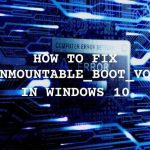 Featured How To Fix an Unmountable Boot Volume in Windows 10.jpg.optimal