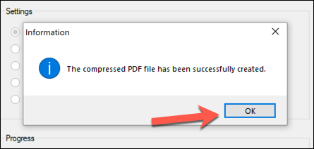 Free PDF Compression Finished Cómo comprimir un PDF en Windows y Mac
