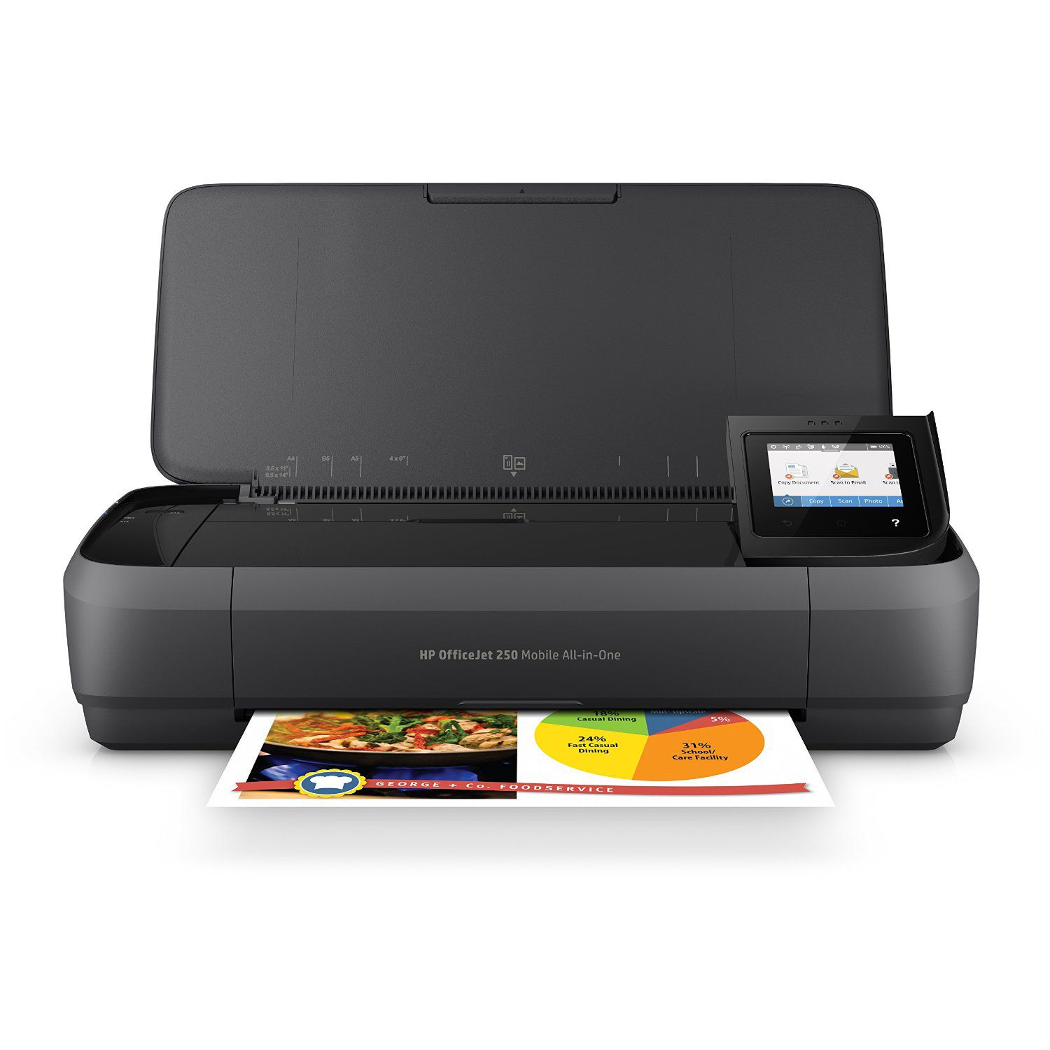 HPOfficeJet250All in OnePortablePrinterwithWirelessMobilePrinting 5953d87e5f9b584bfeaefb7a