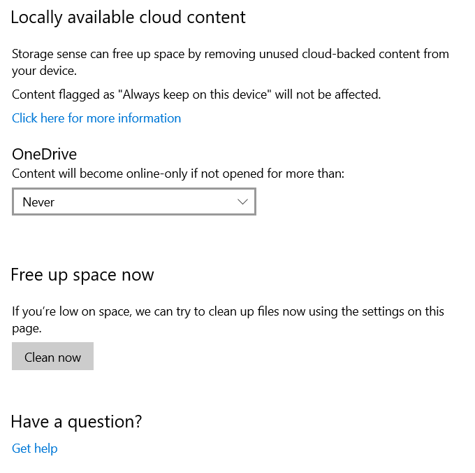 Locally Available Cloud Content