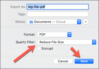 Preview Reduce File Size Cómo comprimir un PDF en Windows y Mac