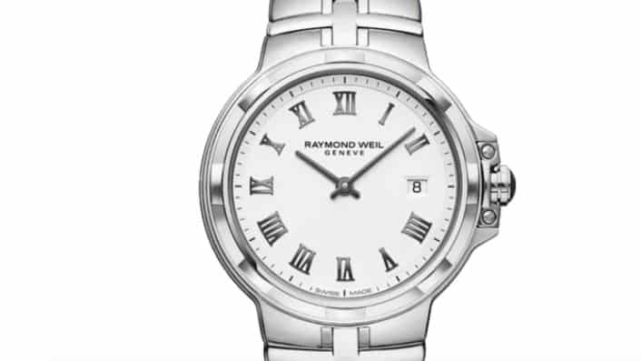 Raymond Weil Parsifal de acero inoxidable para mujer
