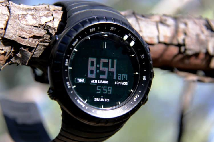 Suunto Core AB time. Click to enlarge. 2
