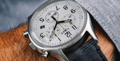 Timex MK1 Steel Watch With White Dial Los 10 mejores relojes Timex de 2019