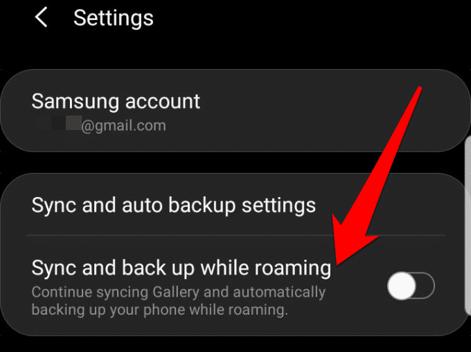 access samsung cloud get most service sync auto backup roaming