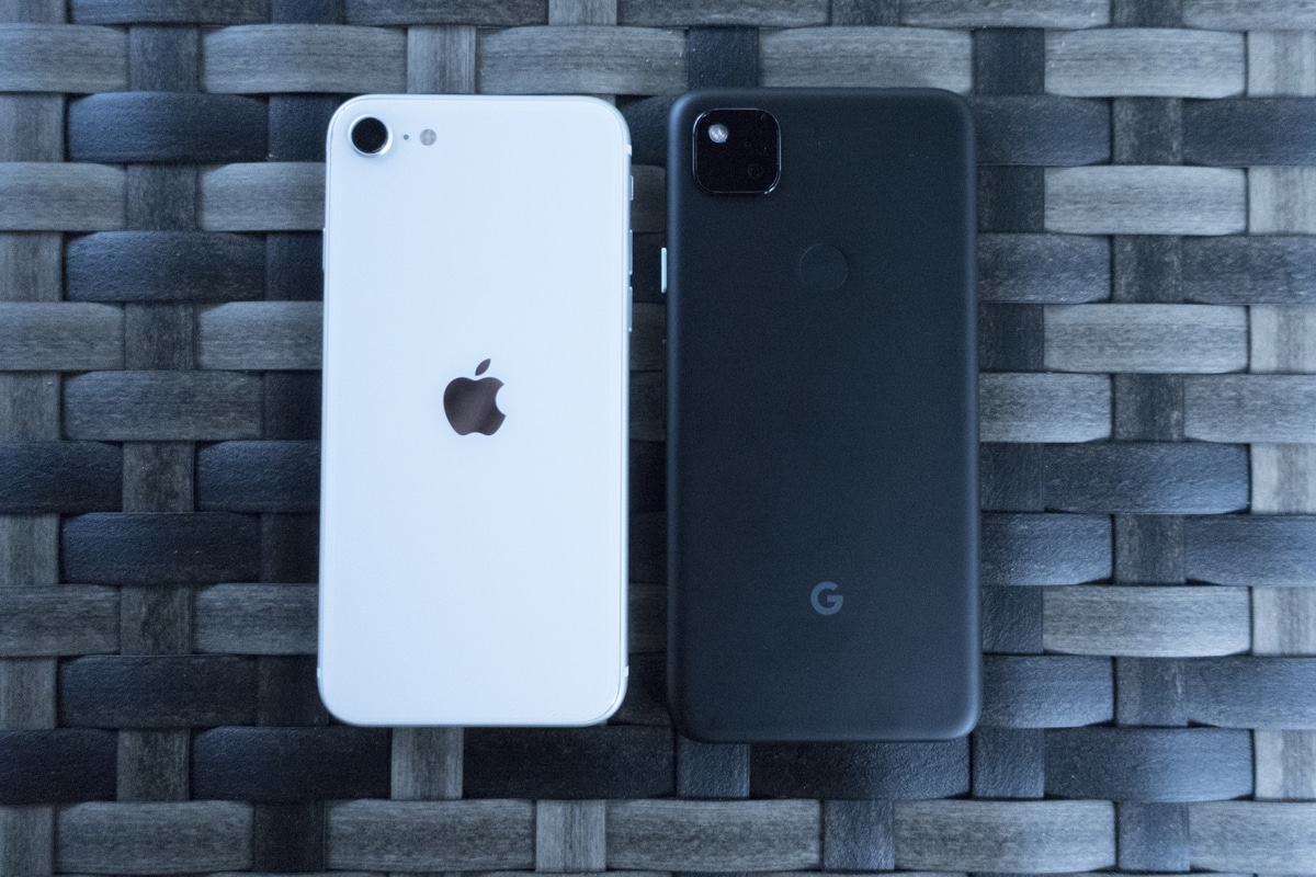 pixel 4a iphone se volver