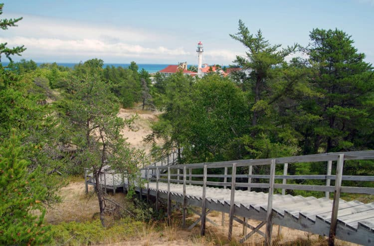 Observatorio de aves Whitefish Point