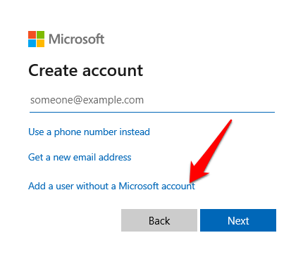 windows 10 action center wont open add without microsoft account