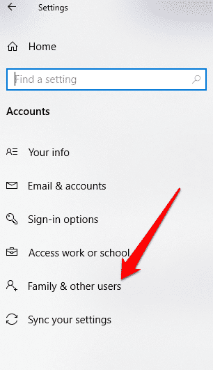 windows 10 action center wont open family other users