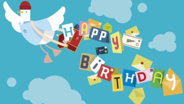 flying bird postal worker delivering birthday cards 515791433 5bec55dbc9e77c00518eb577